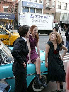 Matt Smith, Karen Gillan and Alex Kingston.