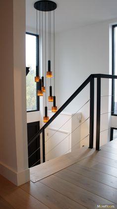 Okal Haus, Flos Leuchte, Treppenhaus, Beleuchtung, Haus Bauen, Rund Ums Haus