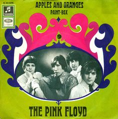 Pink Floyd - Apples And Oranges/Paint Box Record Cover (1967)