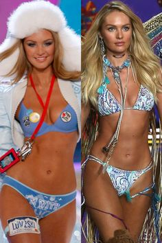 Angel Candice Swanepoel: First VSFS 2007 -- Last 2015 (and counting!) \\ Victoria's Secret Fashion Show Models:+Then+and+Now  - HarpersBAZAAR.com