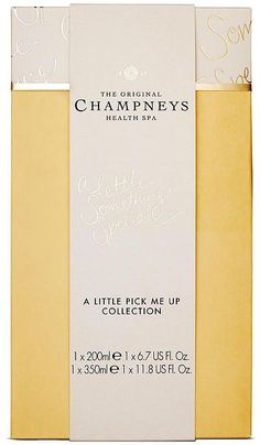 Champneys 2015 Champneys A Little Pick me up Collection