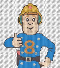 sam the fireman cross stitch pattern - חיפוש ב-Google