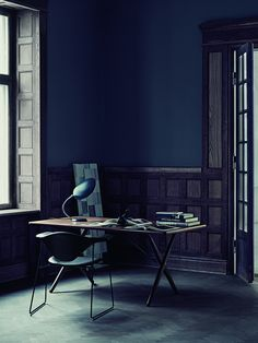 Gubi—Pernille Vest—Heidi Lerkenfeldt  If I could work in such a room, it must feel like heaven!