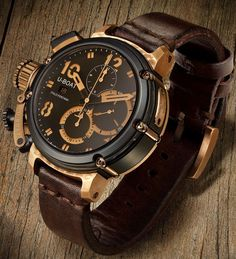 U-51 Black & Bronze Chronograph 47mm Limited Edition (300 pieces) £5,400.00