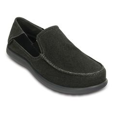 Crocs Santa Cruz 2 Luxe Men's Loafers, Size: 10, Grey Other