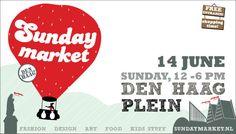 Bécasine is aanwezig! Kom langs op deze gezellige markt in hartje Den Haag. Zondag 14 juni 2015