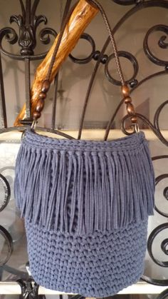 Crochet Bag (T-shirt yarn)