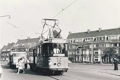 Kleiweg 1969.De tram stopte precies voor het huis waar ik woonde.