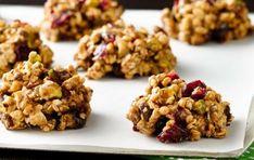 Prepara estas deliciosas galletas por la noche y disfruta de un desayuno saludable para llevar.