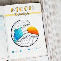Utterly amazing Habit & Mood trackers need a creative way to track habits and moods in your bullet journal?l have a look at these 39 amazing habit and mood trackers for your bujo Bullet Journal Tracker, Diy Bullet Journal, Bullet Journal Notebook, Bullet Journal Aesthetic, Bullet Journal Themes, Bullet Journal Spread, Bullet Journal Inspiration, Art Journal Pages, Journal Ideas