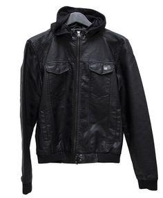 Nena & Pasadena Power Hood PU Jacket $159.95