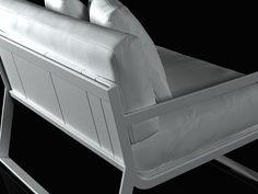 Gandia Blasco Flat armchair 3d model | Mario  Ruiz