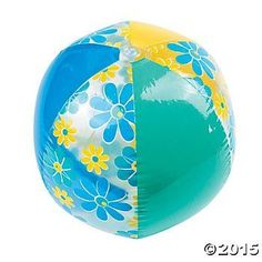 3 Vinyl Summer Floral Beach BallsWater Toys * Check out the image by visiting the link.Note:It is affiliate link to Amazon.