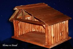 Christmas Nativity Manger/Stable