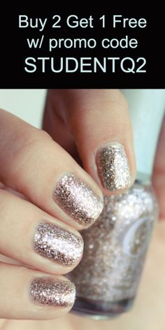 Use code STUDENTQ2 to get 1 FREE lacquer at www.orlybeauty.com