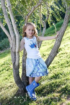 CINDERELLA Inspired Skirt by Little Wellies  by LittleWellies, $38.00