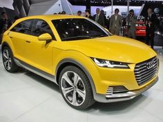 Audi TT Offroad Concept Officially Revealed In Beijing | Cars.co.za