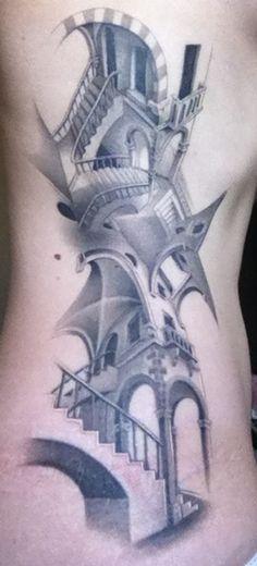 Escher tattoo!