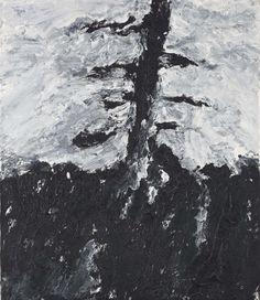 Armando (Dutch, b. 1929), Der Baum [The tree]. Oil on canvas, 70 x 60 cm.