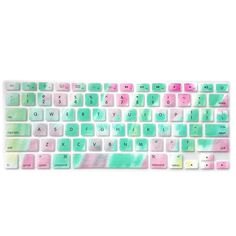 Decal Animal Rainbow Silicone US Keyboard Cover Keypad Skin Protector For Macbook Pro 13 A1278 15 17 Air 13 A1369 A1466 Retina13