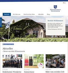 Contao Webseite für Winzerverein Deidesheim