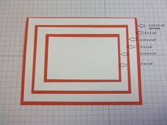 The measurements for that GORGEOUS card I want to make!