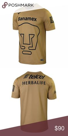 ac257406616 New NIKE PUMAS UNAM HOME JERSEY 2014/15 this is an Authentic New NIKE PUMAS