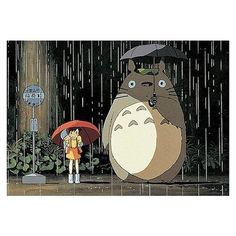Studio Ghibli Art, Studio Ghibli Movies, Totoro Movie, Cartoon Network, Studio Ghibli Background, Cute Canvas, My Neighbor Totoro, Animes Wallpapers, Stickers