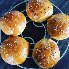 Burger Brötchen Buns hausgemacht Foodblog German Abendbrot