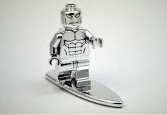Chrome Silver Surfer par minifigures.pl - http://www.brickheroes.com/