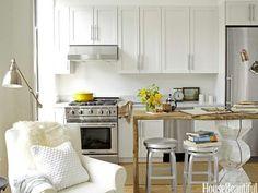 Studio Apartment Kitchen - Small Kitchen Decor Ideas - House Beautiful