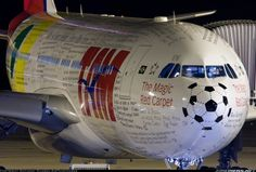 Airlines special livery TAM airlines-airbus-a330-200 for the 2014 FIFA World Cup