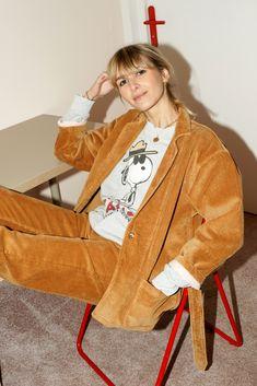 Dustin Jacket - camel caramel Werther's Original :) Jeans Bleu, Coton Bio, Camel, Velvet, Shopping, The Originals, Jackets, Collection, Style