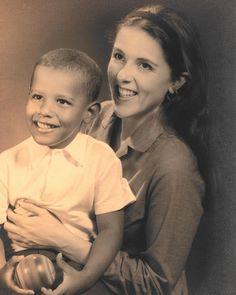 """Barack Obama on Instagram: """"As I recount in my book, A Promised Land, my mother, Ann Dunham, was strong, smart, and marched to her own beat. For her, the world offered…"""" Barack Obama Mom, Civil Rights March, High School Reading, Robinson Family, Black Presidents, Barack And Michelle, Promised Land, Girl Problems, Former President"""