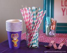 Ideas para fiesta Lalaloopsy http://popotesdepapel.com
