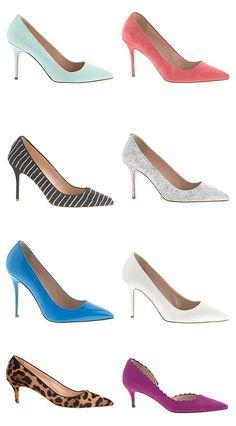 Beautiful Heels in Lots of Colors! #pumps #heels #shoes #fashion