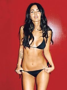 perfectly fit megan fox!