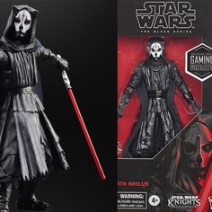 Darth Nihilus, Star Wars Bedroom, Star Wars Figurines, Starwars Toys, Black Series, Figs, Action Figures, Darth Vader, Watch