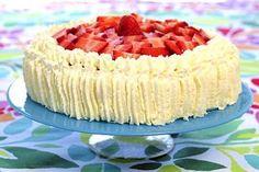 mansikka kakku