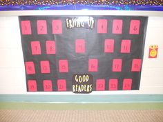 AR Reading Incentive Wall
