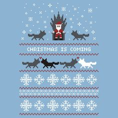 Christmas Is Coming! It's a Game of Thrones ugly sweater