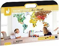 Magneti'stick+le+Monde+de+Janod/Magneti'stick+World+by+Janod