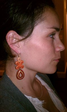 "The Stella & Dot - Capri Chandelier Earrings as featured on the ""Shop Girls Louisville"" blog"