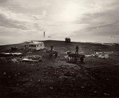 """Chris Killip Seacoal Camp, Lynemouth, Northumberland, 1984"""