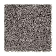IKEA - HAMPEN, Szőnyeg, hosszú szálú, 80x80 cm, A szintetikus rostokból készült szőnyeg strapabíró, foltálló és könnyen tisztítható. Bolyhos felületének köszönhetően több szőnyeget is könnyen összekapcsolhatsz egy naggyá.