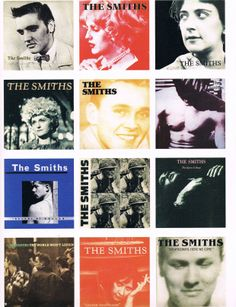 The Smiths covers shared by Lola on We Heart It Music Icon, Music Tv, Music Stuff, How Soon Is Now, The Smiths Morrissey, Cool Album Covers, Stone Roses, Music Illustration, Charming Man