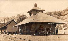 Railroad Station, Gassetts, VT