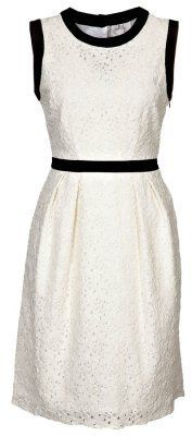 Milly Work Dress white