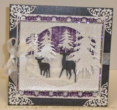 """Cartes artisanales et autres projets artistiques de Liz: Défi Boitatou # 6: """" Noël aux couleurs non-traditionnelles"""""""