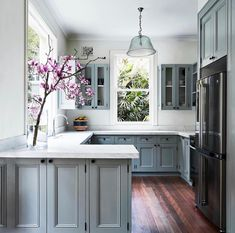 """531 Likes, 13 Comments - Susanna.T (@coastalhamptonstyle) on Instagram: """"What do you guys think of this gorgeous kitchen?. This heritage house was given a facelift but…"""""""